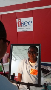 Youngstown iSee student